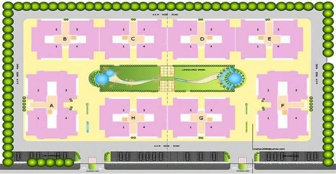 Agarwal Aditya Royal Crescent Site Plan