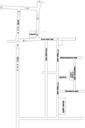 Sreenivas Glenn Location Plan