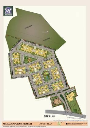 Mahagun Mahagunpuram II Site Plan