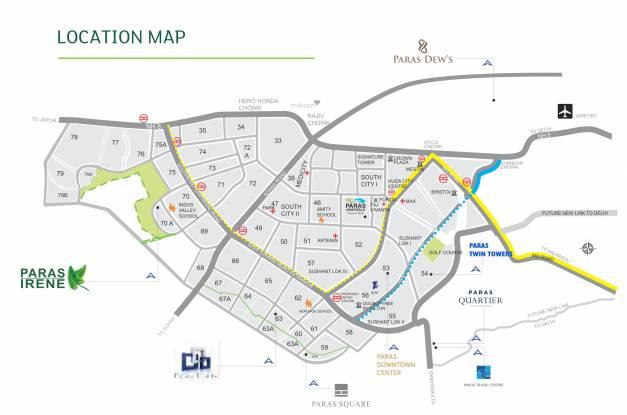 Paras Irene Location Plan