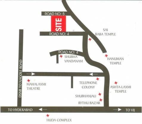 Jubilee Heights Location Plan