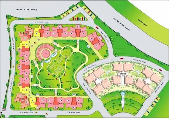 Eldeco Riviera Layout Plan
