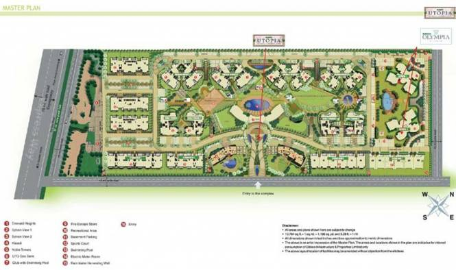 Eldeco Utopia Master Plan
