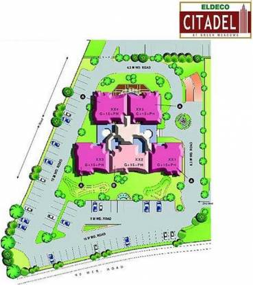 Eldeco Citadel Layout Plan