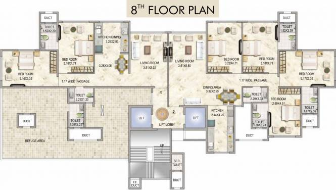 Concrete Sai Srishti Cluster Plan