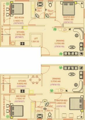 Pushkar Pushkar Residency Cluster Plan