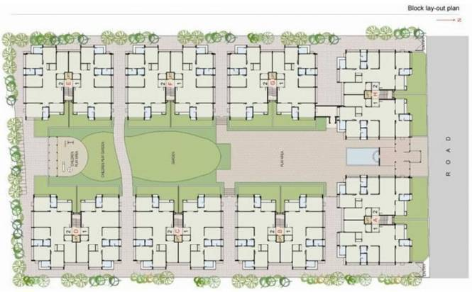 Dhara Kasturi III Layout Plan