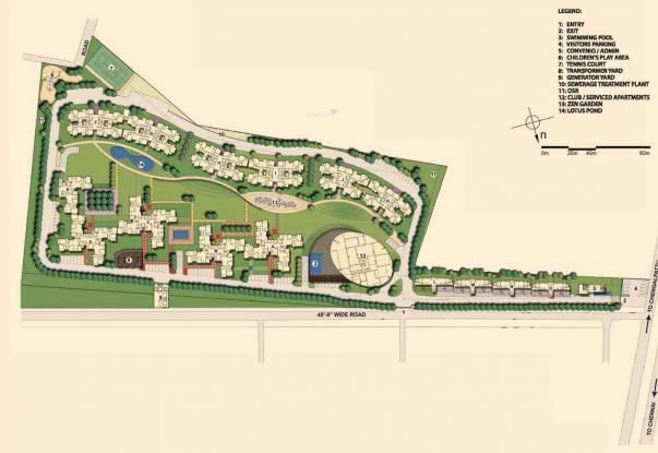 Akshaya Metropolis Site Plan