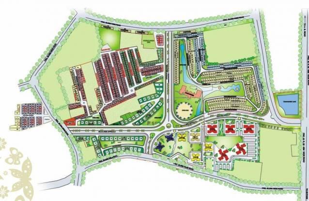 Entertainment Treasure Town Apartments Site Plan