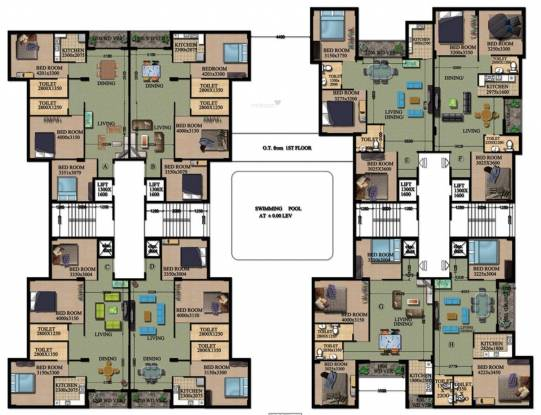 Rajwada Grand Cluster Plan