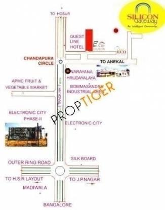 Vishwaa Silicon Gateway Location Plan