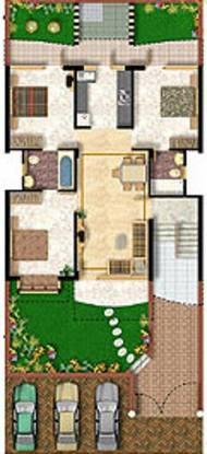 Niho Scottish Castle Cluster Plan