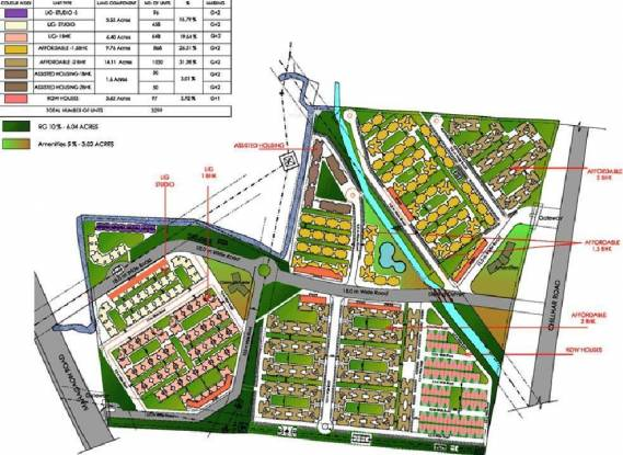 TATA Shubh Griha Layout Plan