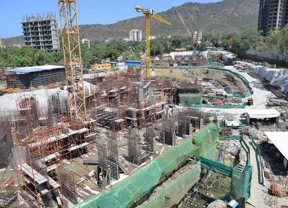 Oberoi Enigma and Eternia Construction Status