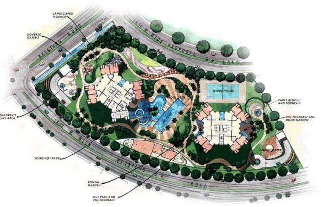 Oberoi Oberoi Park View Master Plan