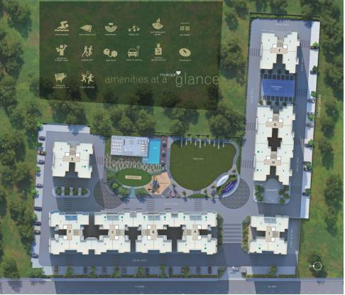 Safal Orchid Elegance Layout Plan