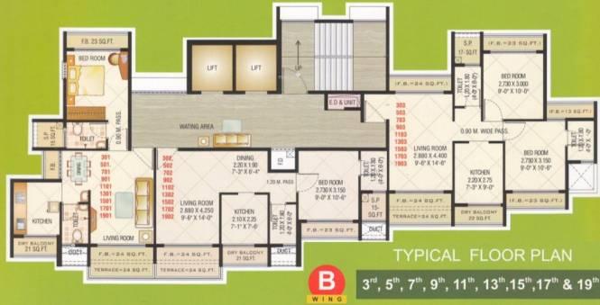 Marvels Shanti Heights Cluster Plan
