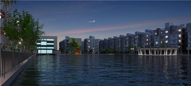 Bengal Abasan Urban Sabujayan Elevation