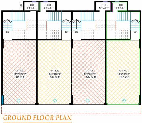 Kabra Rageshree Cluster Plan