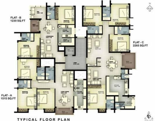 Landmark Timberton Cluster Plan