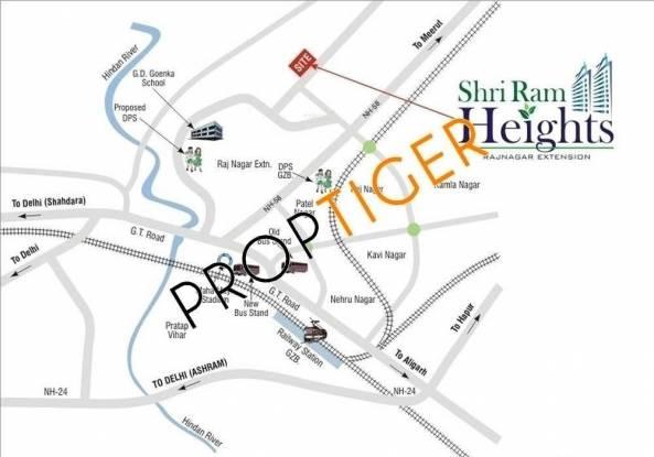 Shriram Shri Ram Heights Location Plan