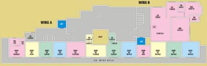 SB Sandeep Gardens Cluster Plan