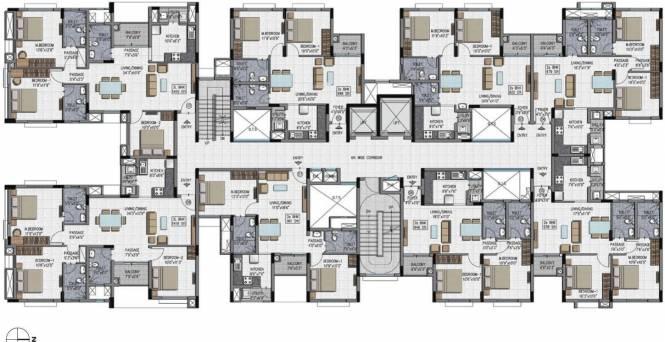 Adroit District S Cluster Plan