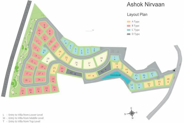 Peninsula Ashok Nirvaan Layout Plan