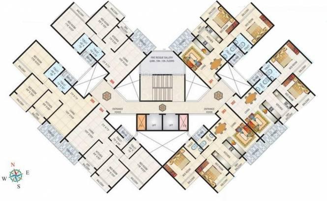 Jai Gurudeo Gurudev Heights Cluster Plan