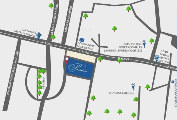Kabra Paradise Location Plan