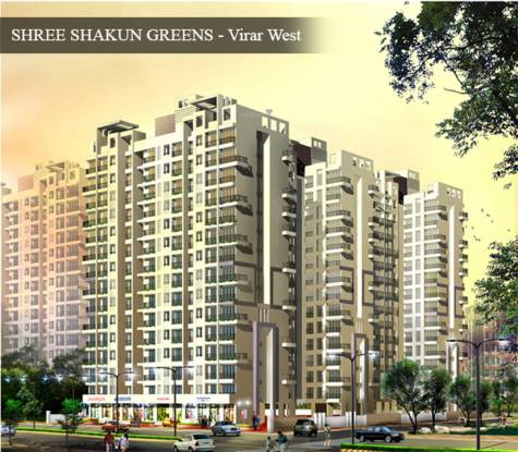 Shree Shakun Greens Elevation