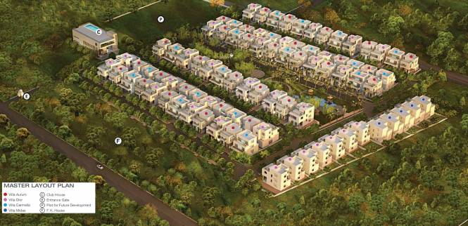 Godrej Gold County Layout Plan