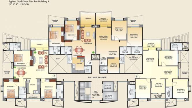 Kool Homes Arena Cluster Plan