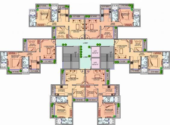 Kamala Pee Dee Society Cluster Plan