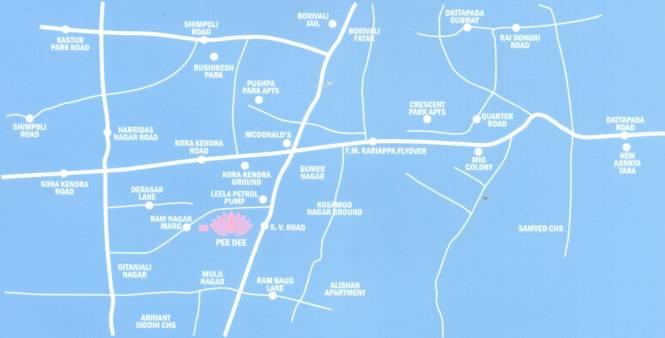 Kamala Pee Dee Society Location Plan