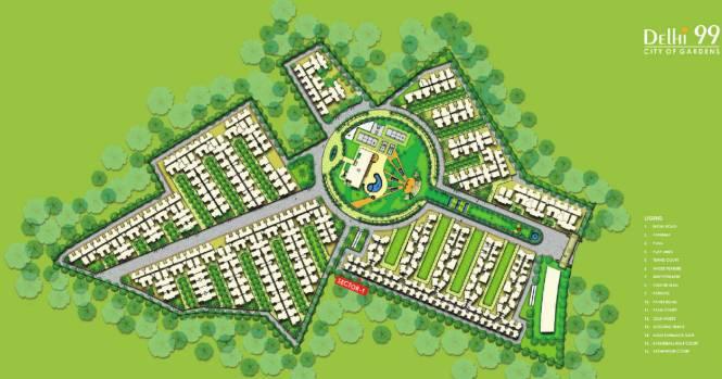 MR Delhi 99 Master Plan