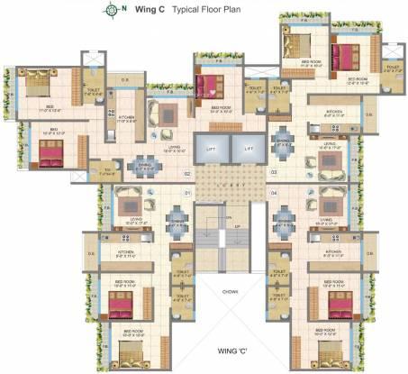 Chheda New Gagangiri Cluster Plan