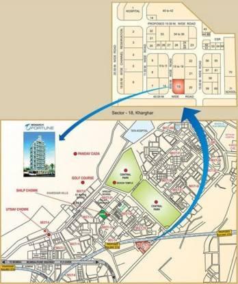 Monarch Fortune Location Plan