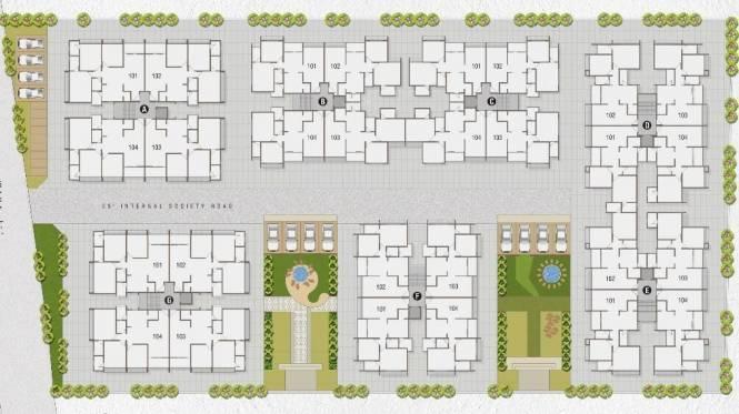 Desai Anand Crystal Layout Plan