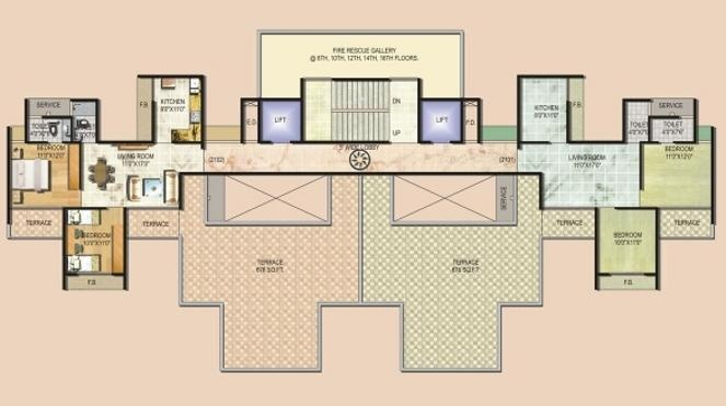 Monarch Luxuria Cluster Plan