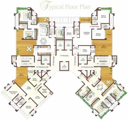 Ashford Royale Cluster Plan