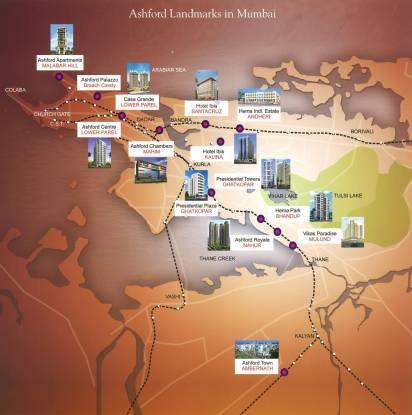 Ashford Royale Location Plan