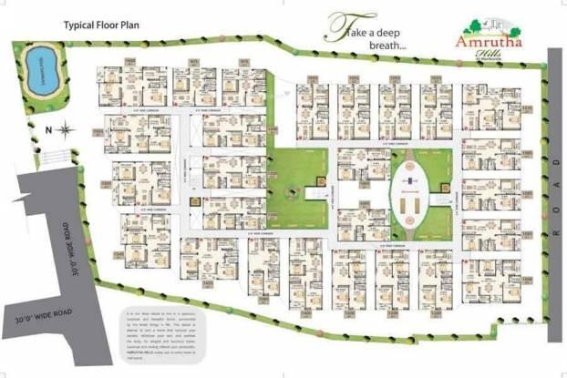 Amrutha Amrutha Hills Cluster Plan