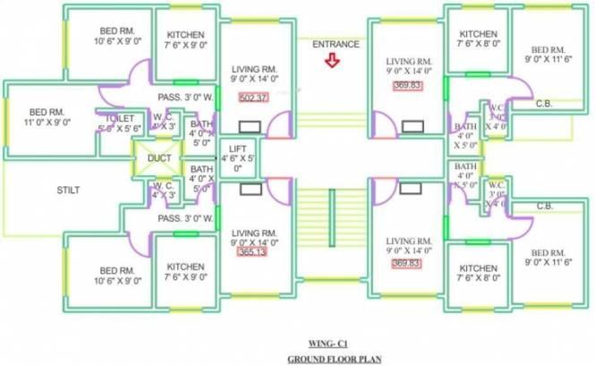 Panvelkar Sankul Cluster Plan