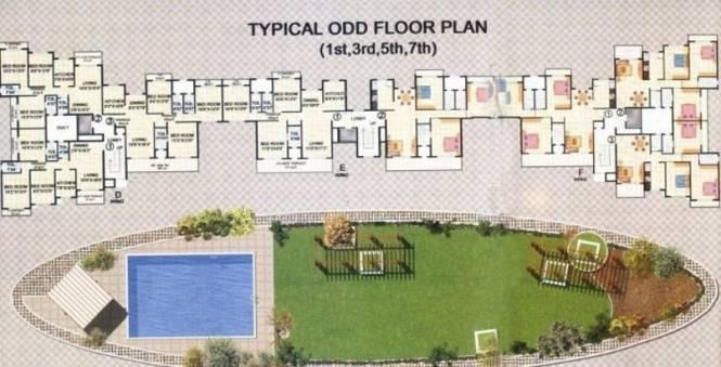 Metro Metro Tulsi Mangal Cluster Plan