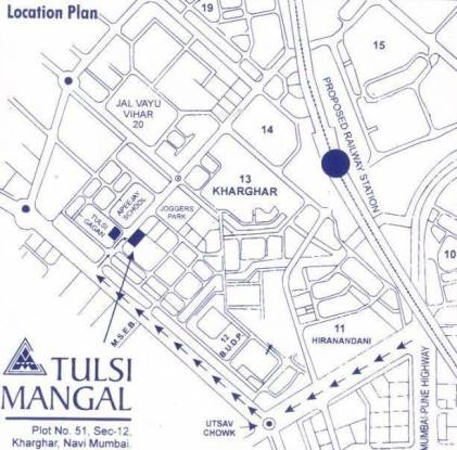 Metro Metro Tulsi Mangal Location Plan