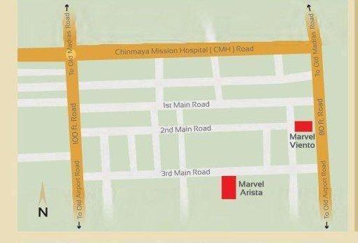 Marvel Marvel Viento Location Plan