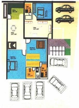 Nishitas Savitha Residency Cluster Plan