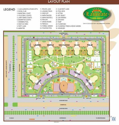 Laureate Parx Laureate Layout Plan
