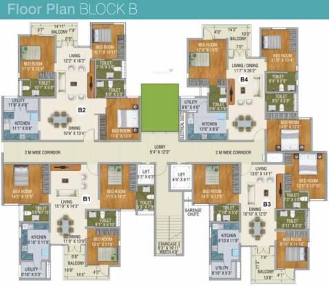 Saket Callipolis Cluster Plan